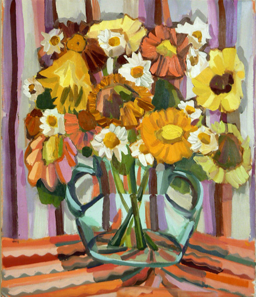 Pink and Yellow Daisies (2006)